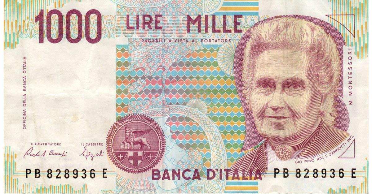 Sapete che esistono vecchie banconote da mille lire che possono valere anche 1.000 euro? Ecco di quali stiamo parlando