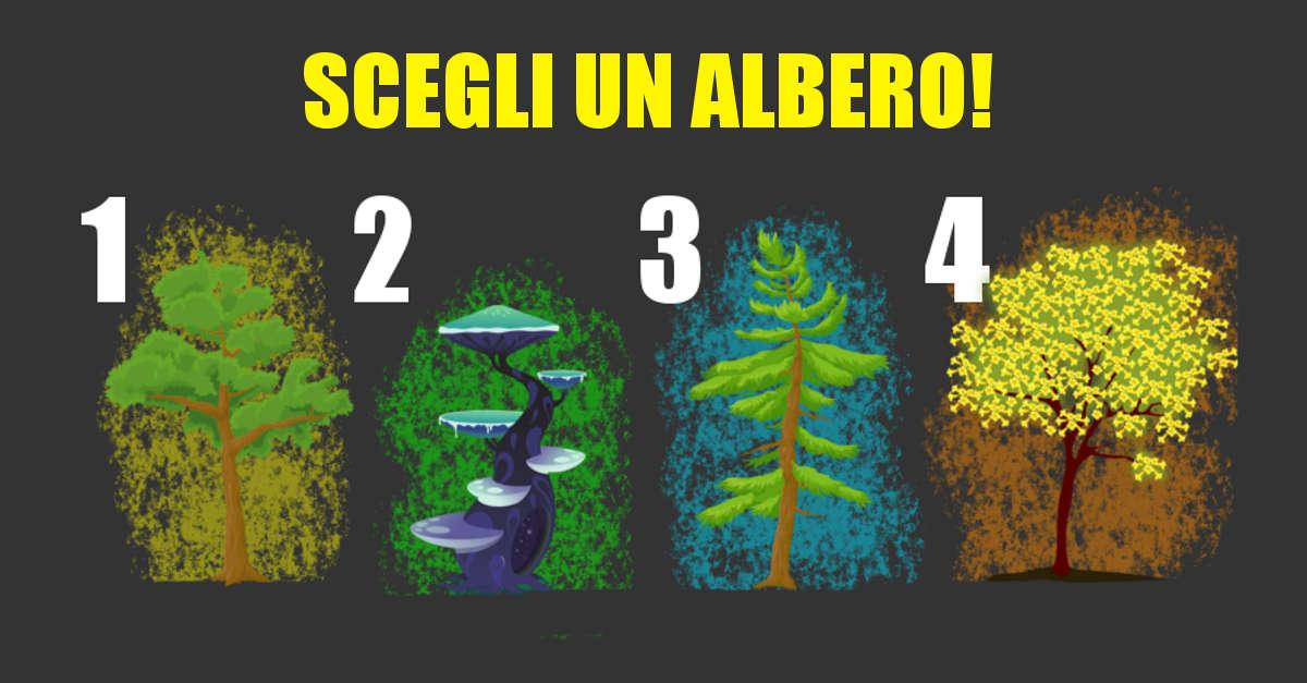 TEST di personalità: Scegli un albero magico e scopri come sei e come si sta evolvendo la tua vita