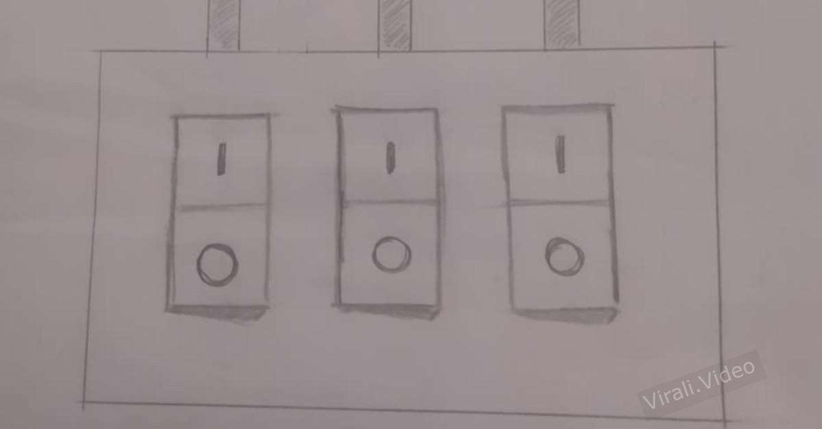Sfida virale: risolvi l'indovinello dei tre interruttori e scopri quale accende la lampadina in soffitta
