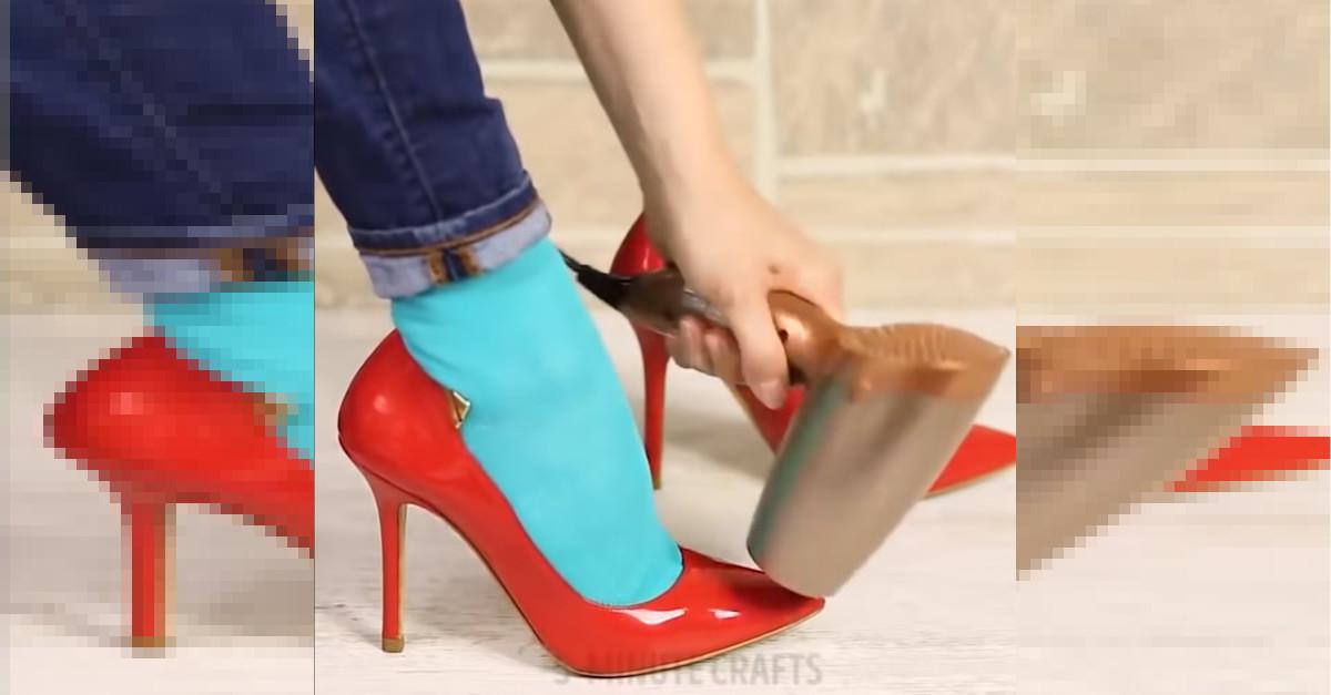 6 semplici trucchetti per rendere le scarpe più comode