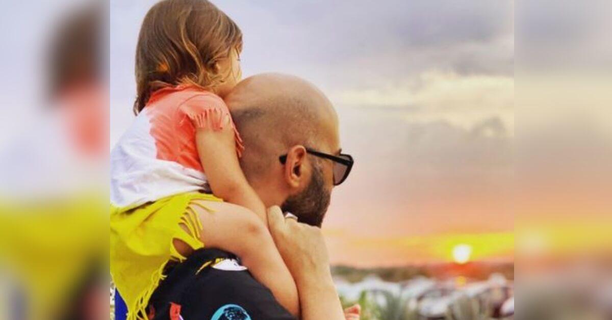 Dedica speciale di Giuliano Sangiorgi alla figlia Stella.  Le parole e le foto condivise dal cantante sui social, emozionano