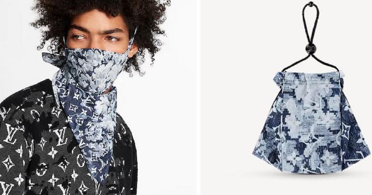 Le mascherine protettive ora diventano di lusso. Louis Vuitton ne ha creata una molto particolare ad un prezzo impressionante.