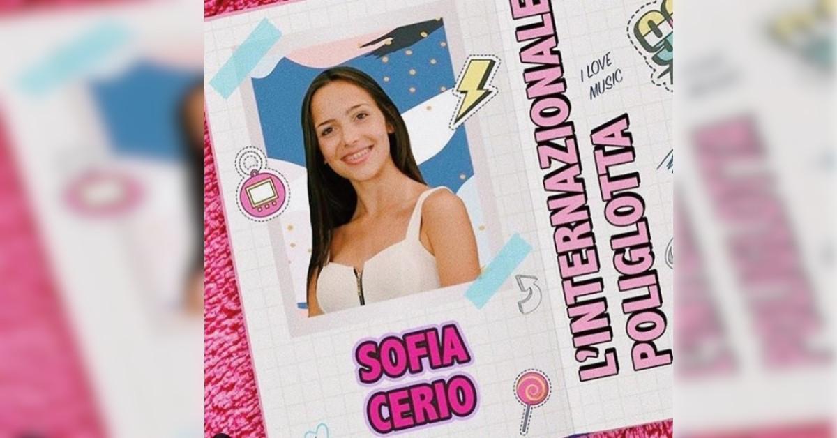 """Avete visto Sofia Cerio a """"Il Collegio 5""""? Ecco il prima e dopo della studentessa """"Internazionale e poliglotta"""""""