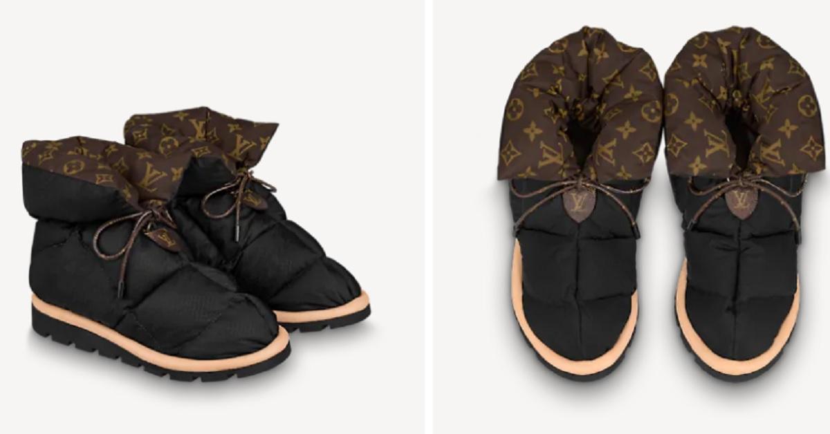 Pillow Boots ecco i nuovi stivaletti voluminosi Louis Vuitton, il loro prezzo è davvero incredibile