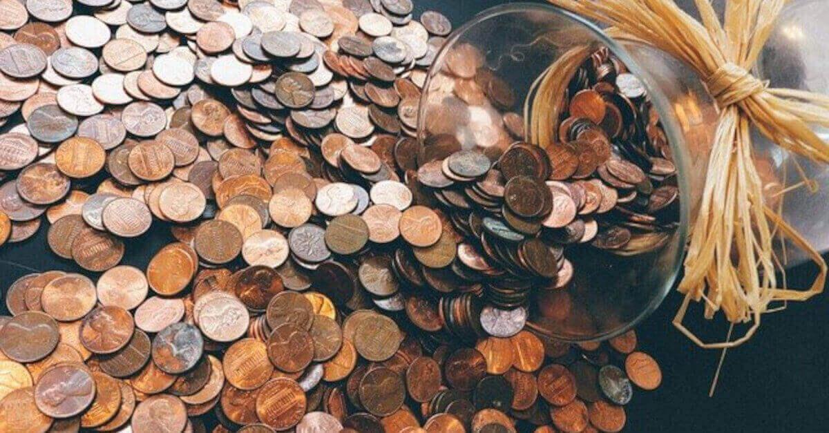 Come pulire facilmente le monete rovinate