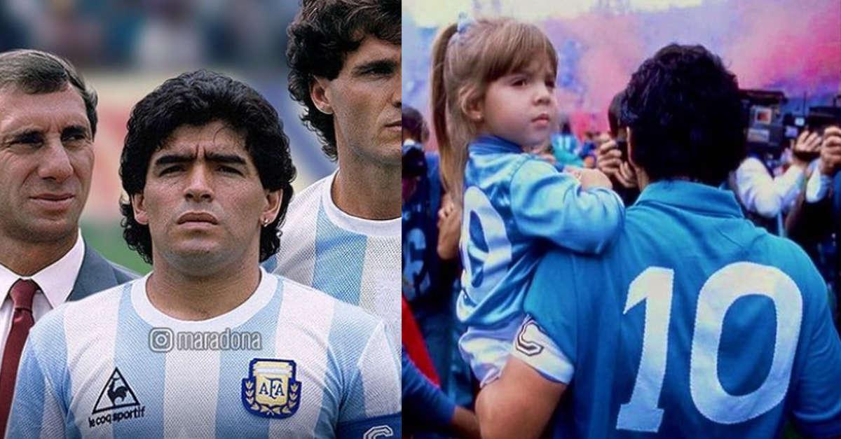 Avete mai visto Dalma la figlia di Diego Armando Maradona? Oggi ha 33 anni ed è una famosa attrice. Eccola in una foto