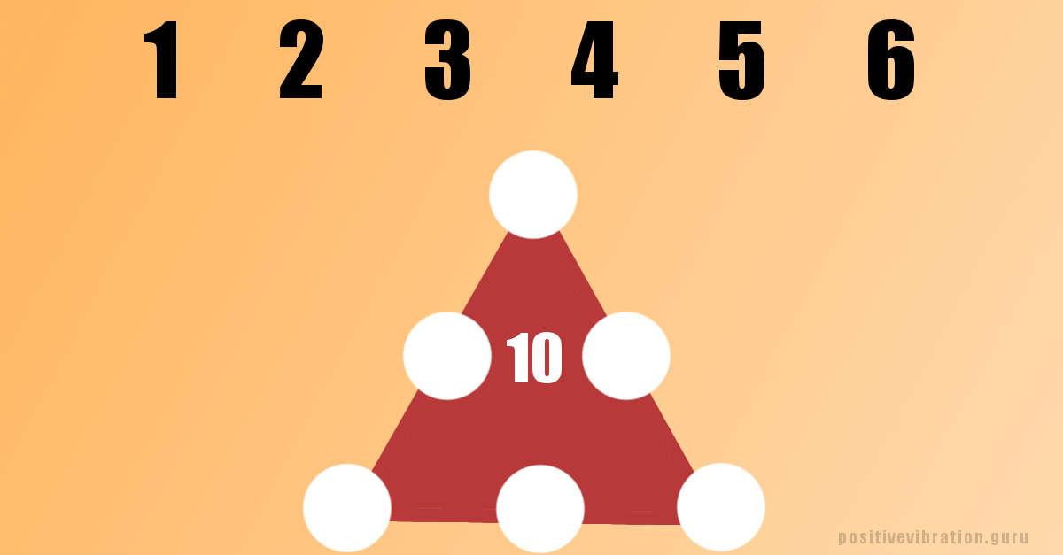 Sfida matematica: posiziona i numeri all'interno della piramide seguendo lo schema (quasi impossibile)