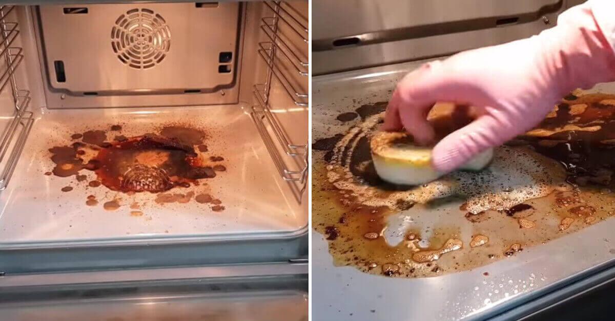 Come pulire il forno facilmente utilizzando solo ingredienti naturali
