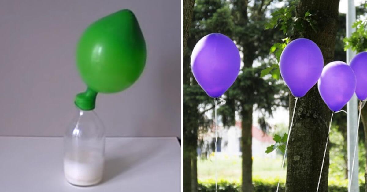 Palloncini senza elio che volano. Come farli in casa [VIDEO]