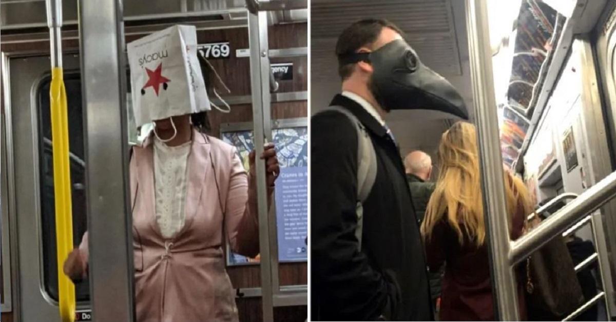 14 persone che hanno reinventato il concetto di maschere protettive