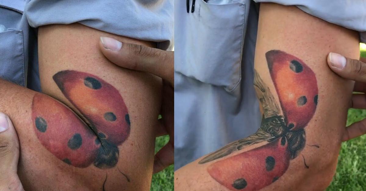 16 tatuaggi che cambiano in base al movimento del corpo