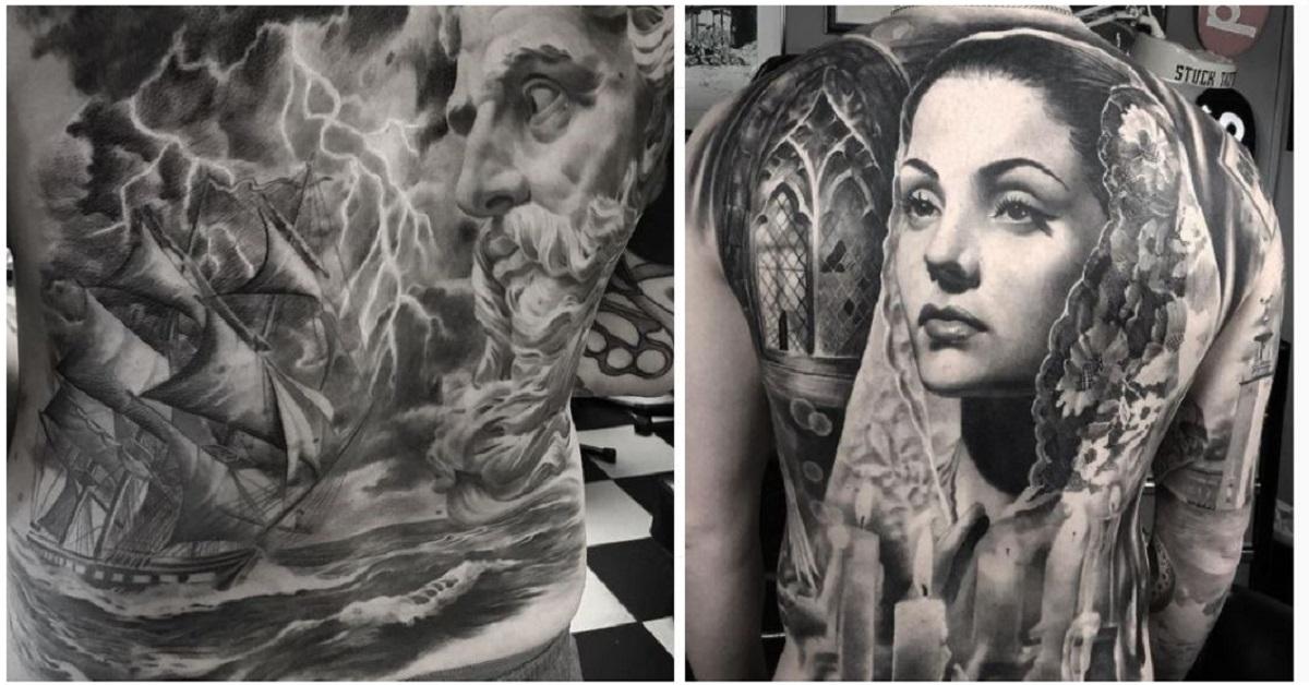 12 tatuaggi ispirati all'arte greca e romana. I capolavori di arte su pelle di Mr.T Stucklife