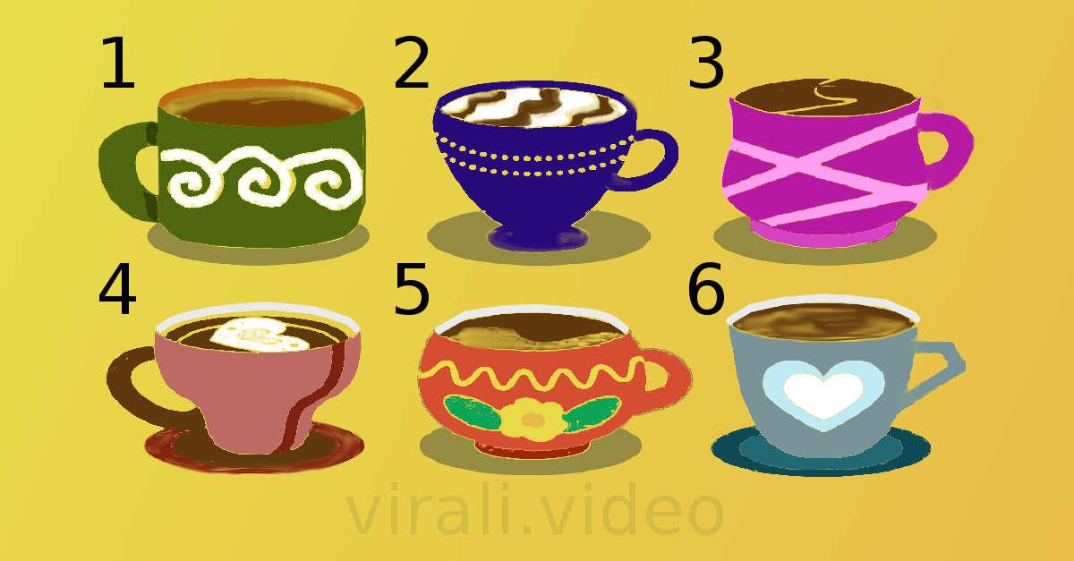 Test: quale di queste tazze preferisci? La risposta rivela le tue caratteristiche più nascoste