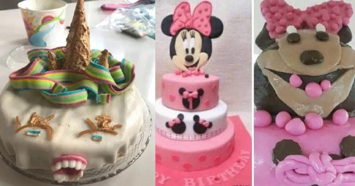 15 torte di compleanno che hanno traumatizzato per sempre dei bambini innocenti
