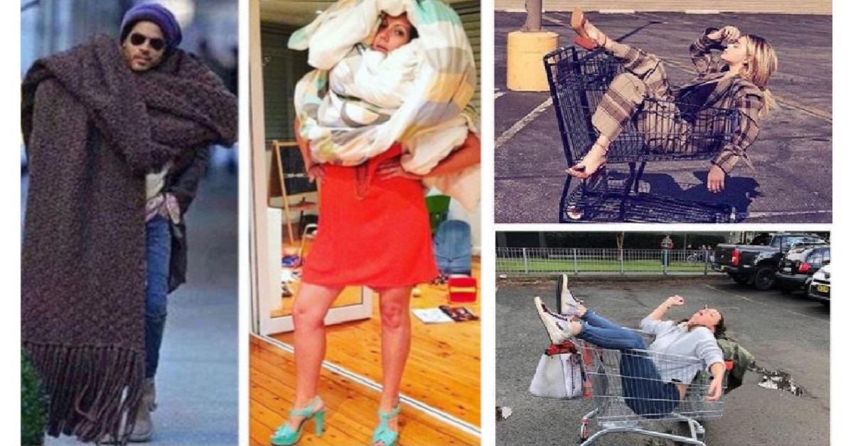 17 pose Instagram di star famose imitate in modo divertente da una comica australiana