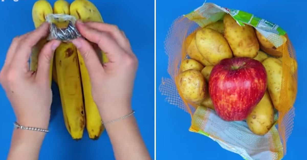 5 trucchetti per conservare il cibo più a lungo