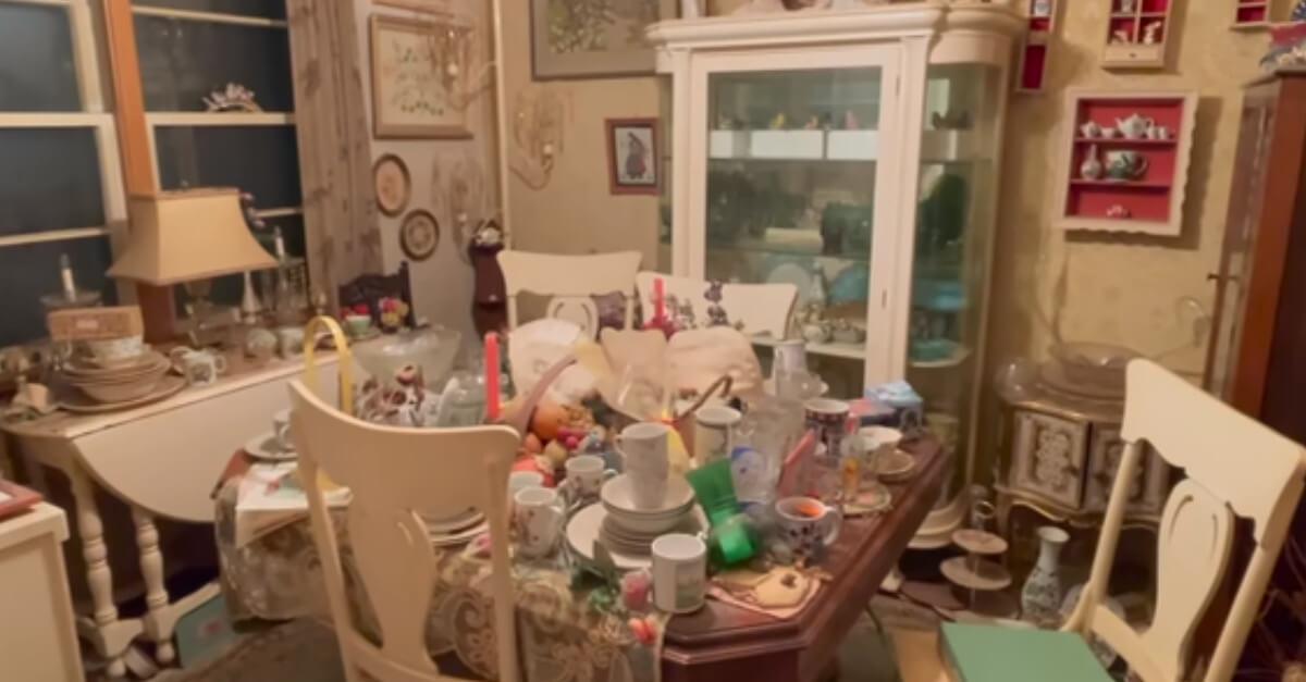 """Uno """"youtuber"""" compra una casa piena di cianfrusaglie a 6.500 euro per cercare di vendere tutto per 260.500"""