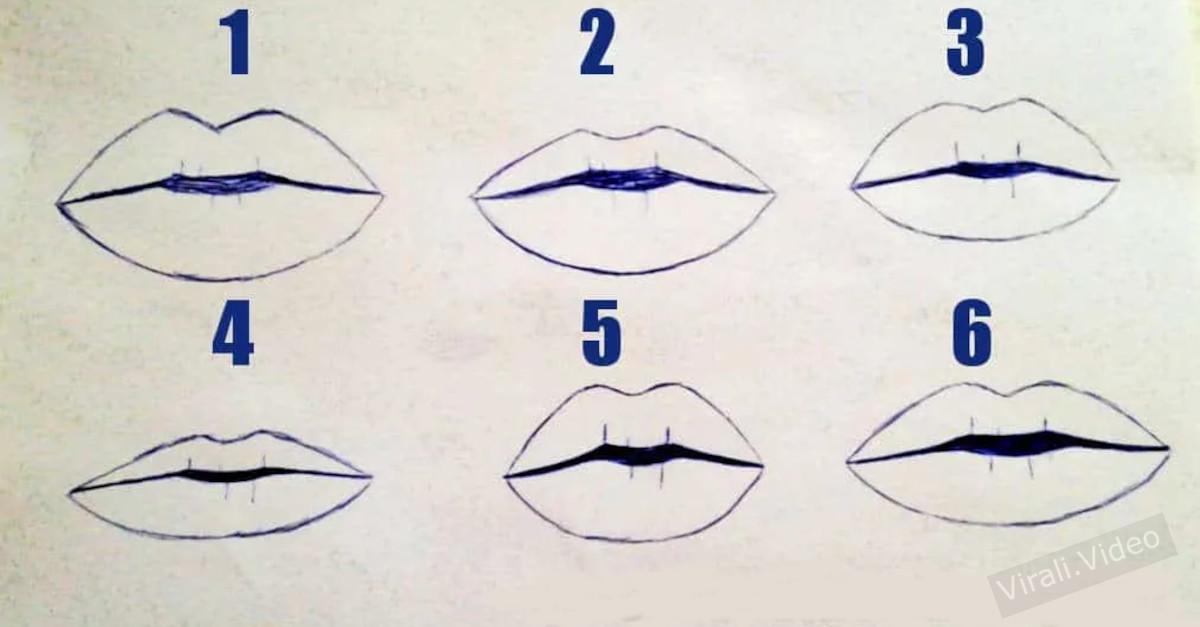 Test: Dicci che forma hanno le tue labbra e ti sveleremo la tua vera personalità