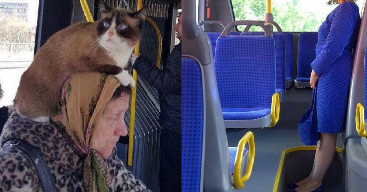 17 foto Instagram di persone originali incontrate sui mezzi pubblici