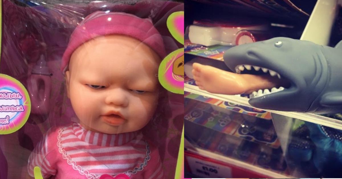 16 giocattoli per bambini da paura. Sono i più strani che tu abbia mai visto
