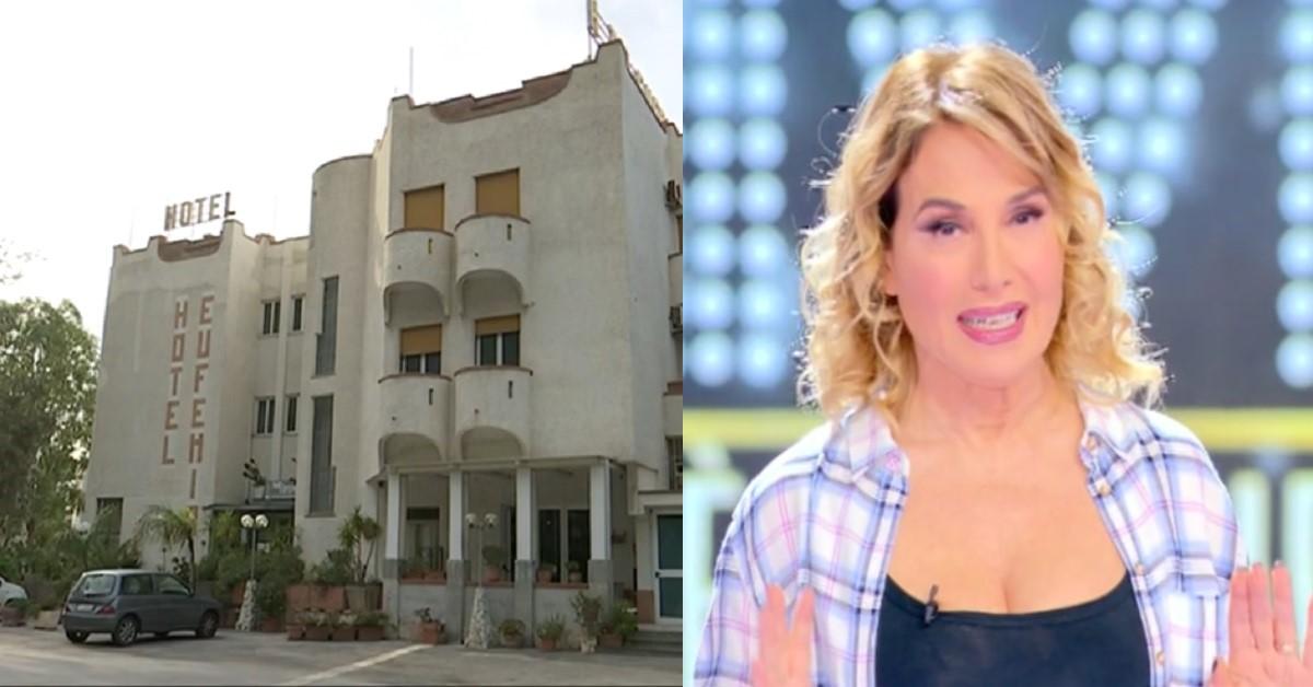 """Barbara D'Urso racconta a """"Live"""" la storia nota sui social della coppia dell'Hotel Eufemia. Il video dell'anteprima"""