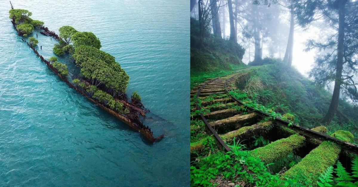 20 inquietanti foto di luoghi abbandonati condivise sui social