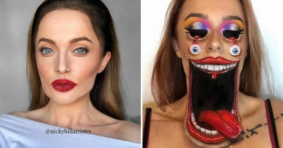 17 trucchi impressionanti che trasformano questa make up artist in chi desidera