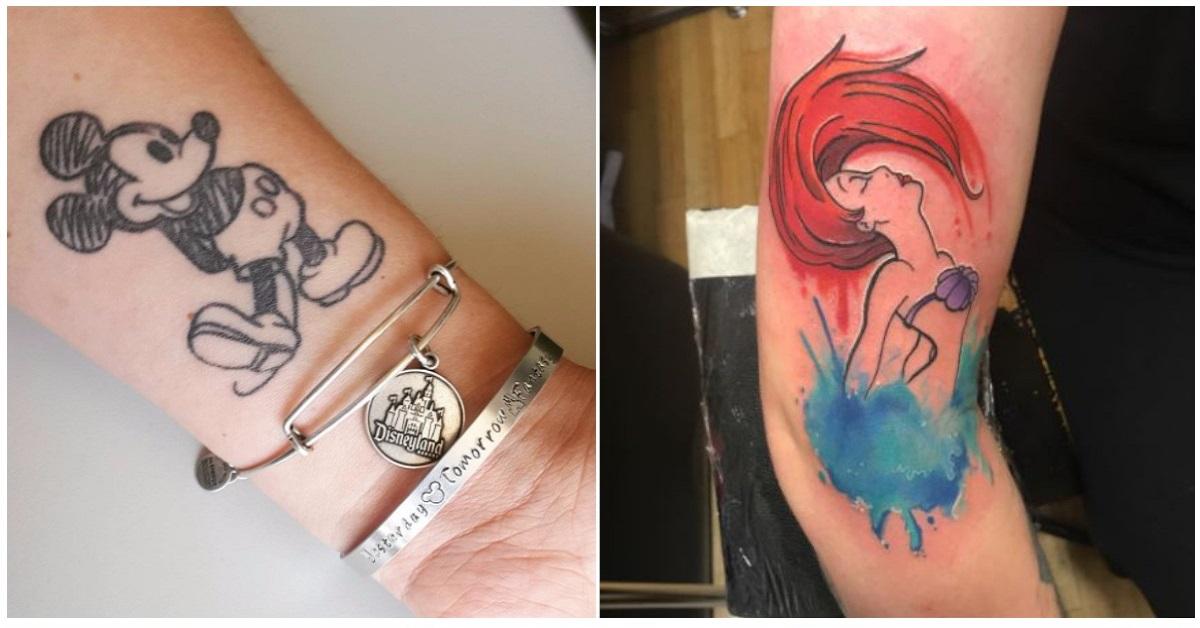 17 tatuaggi Disney per gli appassionati di quel mondo magico