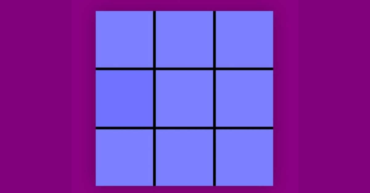 Il sorprendente puzzle visivo del colore che non tutti riescono a risolvere