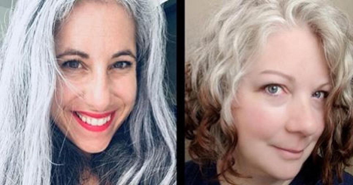 16 donne che amano mostrarsi al naturale e non si tingono più i capelli