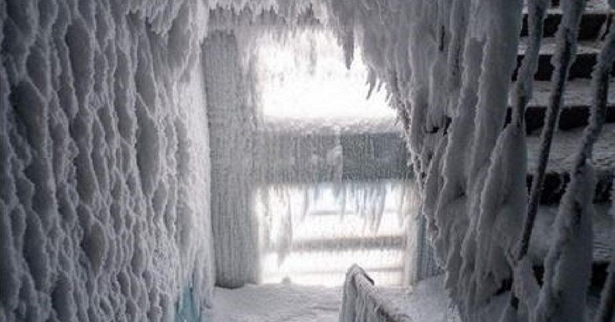 10+ particolari foto dal cuore della città più fredda d'Europa