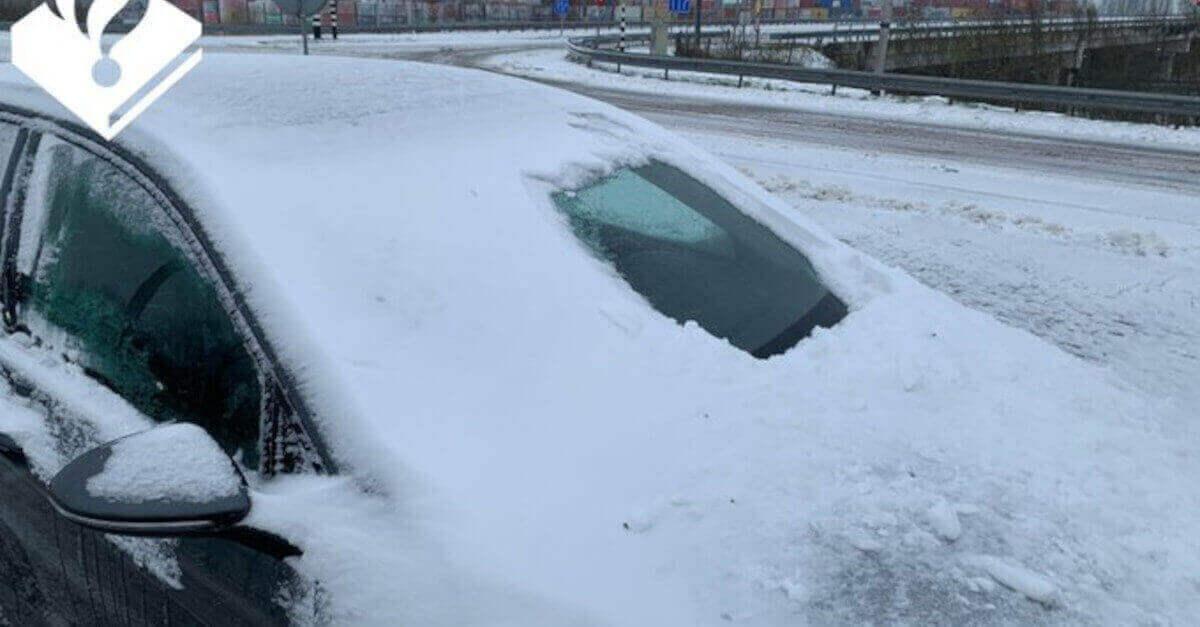 L'automobilista riceve una multa salata dopo essere entrato in strada con l'auto in queste condizioni