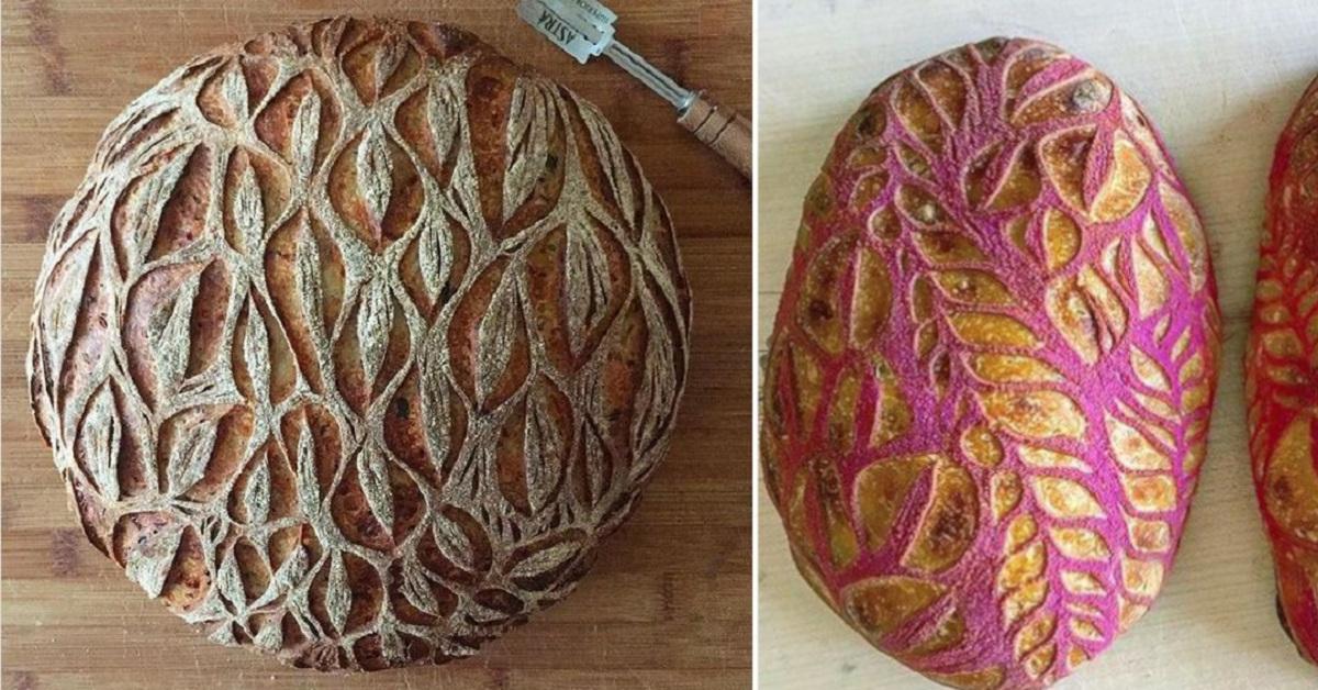 10 forme di pane trasformate in maniera artistica. Sembrano troppo belle per essere mangiate
