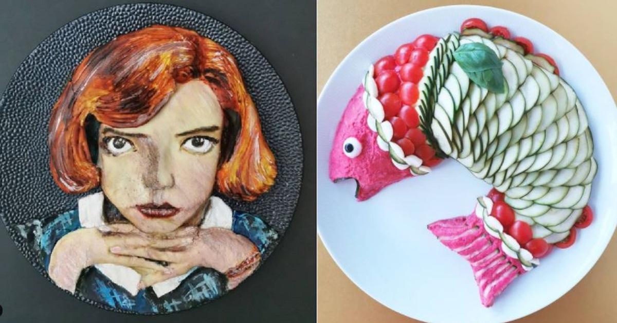 11 piatti freddi realizzati in maniera creativa da una bravissima food stylist.