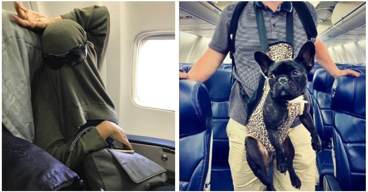 20 passeggeri  imbarazzanti che non vorresti mai incontrare in un aereo