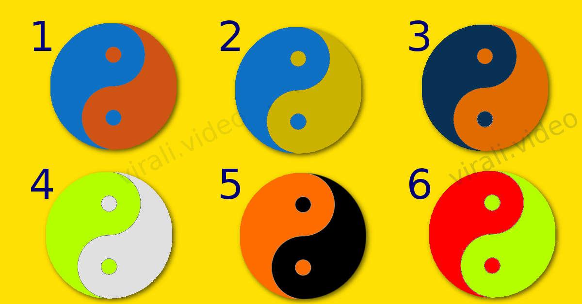 Test del colore Ying e Yang: quale scegli?