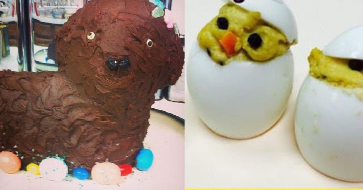 16 Foto di tragici errori in cucina per Pasqua. Un vero disastro culinario!