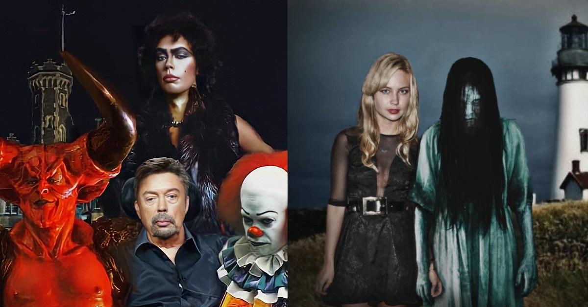 13 attori fianco a fianco con i personaggi dei loro ruoli più inquietanti