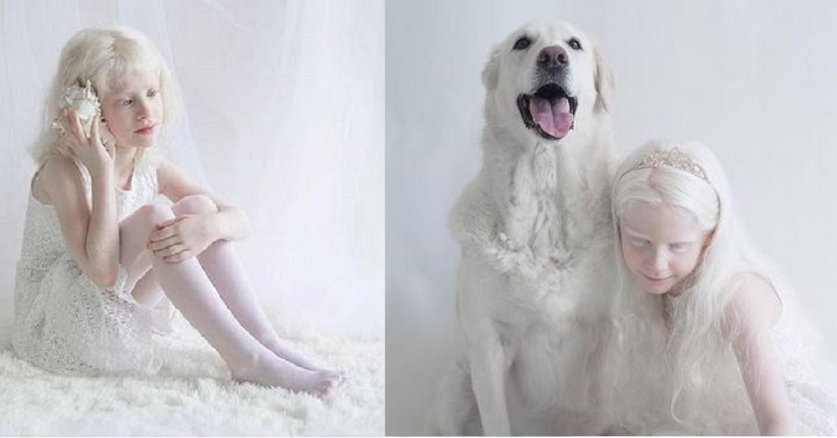 11 persone albine ritratte dalla fotografa Yulia Taits che mostra la loro candida bellezza