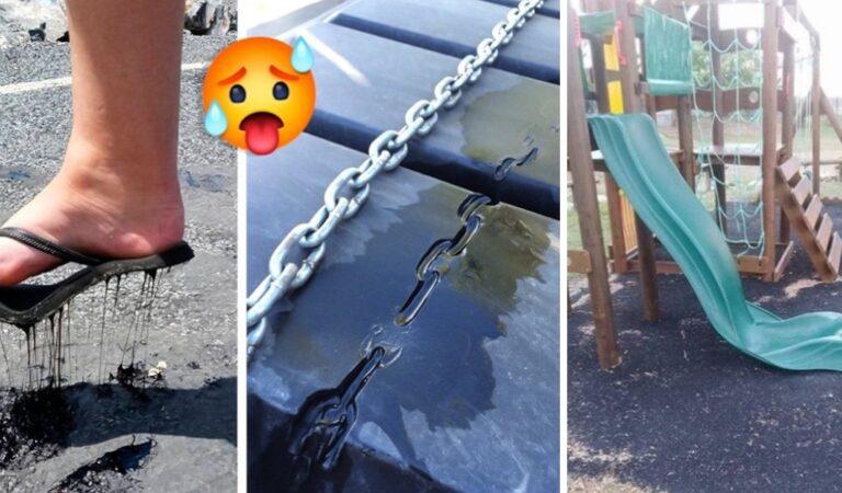 13 oggetti che si sono fusi sotto al sole, queste foto vi faranno sentire caldo solo a vederle