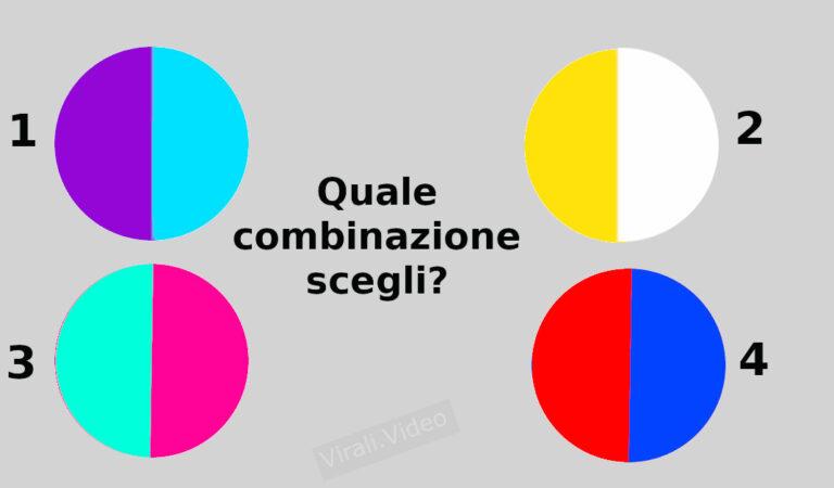 TEST: Conosci la tua più grande virtù semplicemente scegliendo una combinazione di colori