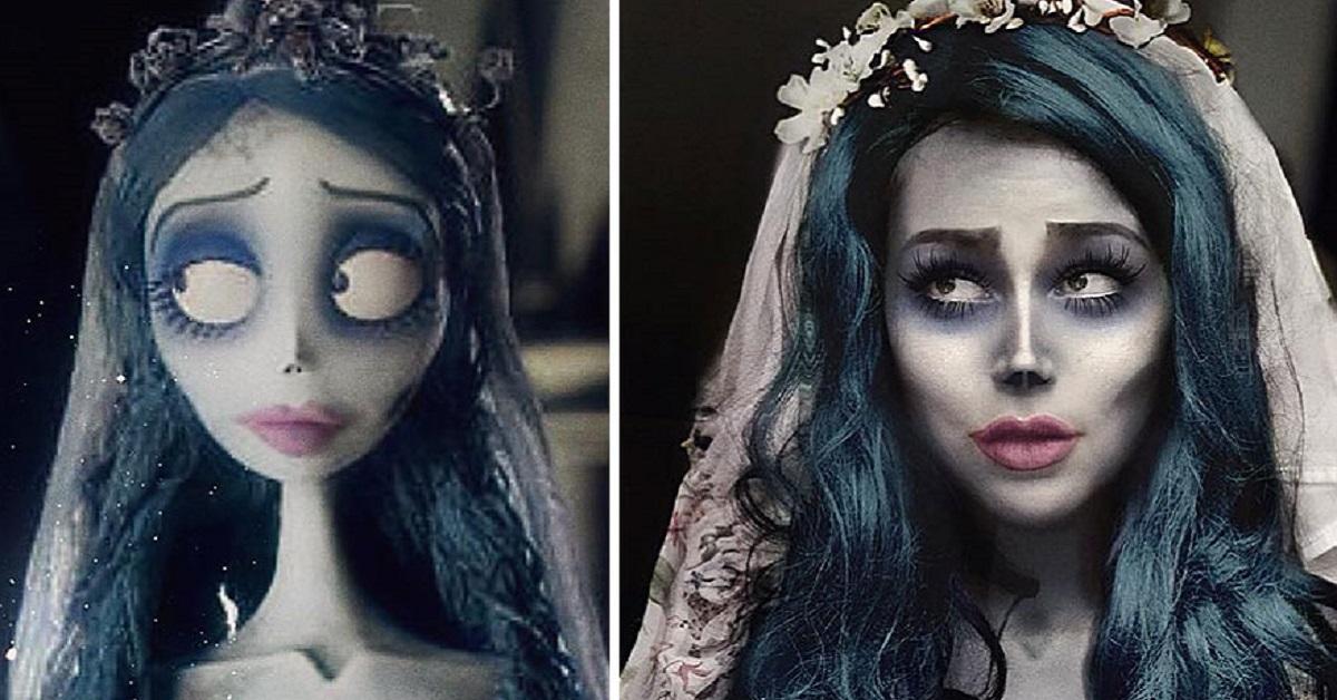 25 travestimenti di una cosplayer russa che riesce a trasformarsi in qualsiasi personaggio desideri
