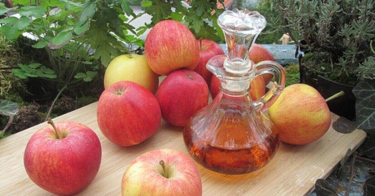 4 rimedi usando l'aceto di mele