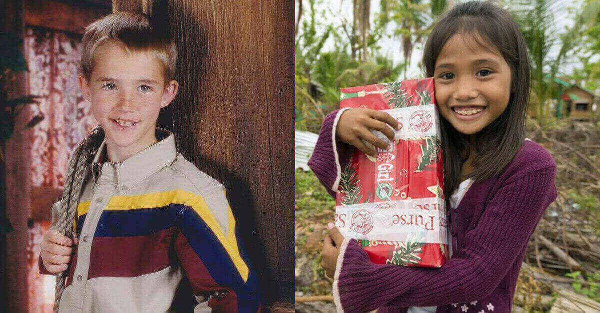 Un ragazzino invia un pacco nelle Filippine che 15 anni dopo gli ha cambiato la vita