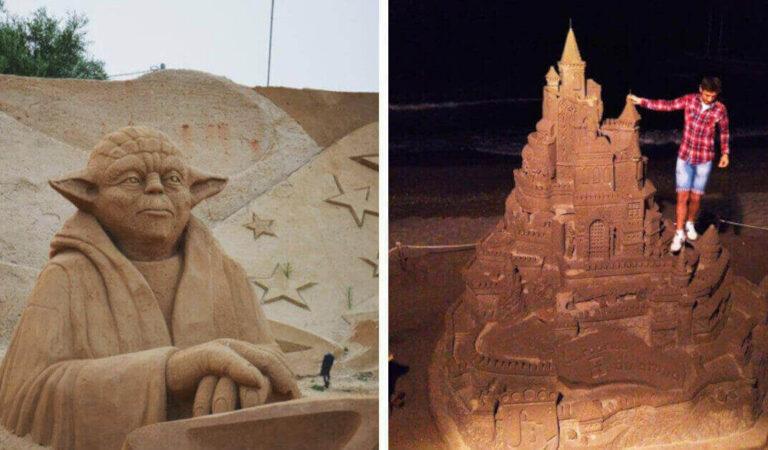 """20 foto dei """"castelli di sabbia"""" più belli e particolari di sempre"""
