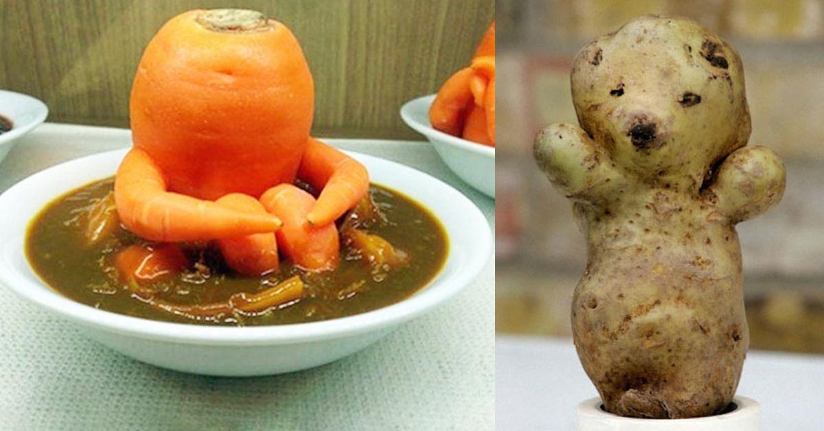 20 Foto di frutta e verdura dalla forma molto strana tanto da assomigliare a qualcos'altro