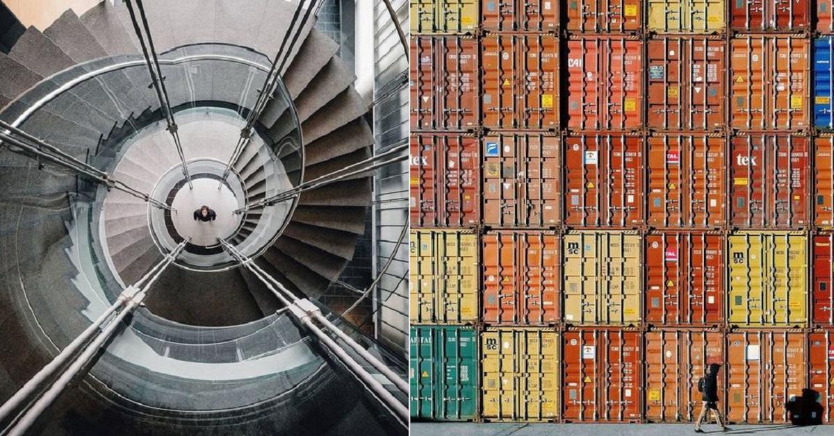 15 scatti fotografici che sembrano quasi ipnotici realizzati dal fotografo Simon Lachapelle