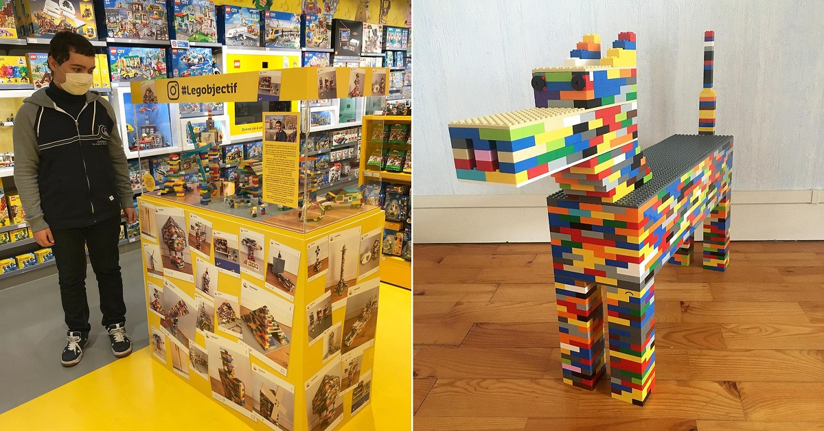 12 creazioni LEGO, che hanno sorpreso gli utenti del Web, realizzate da un adolescente non vedente
