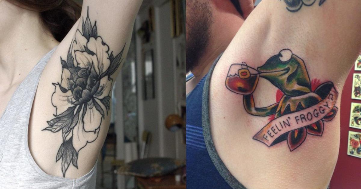11 foto di ascelle tatuate: uno dei trend degli ultimi anni