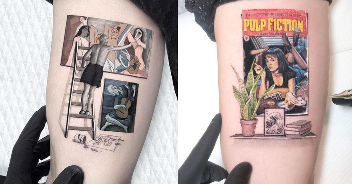 20 tatuaggi ispirati alla cultura Pop realizzati divinamente dal noto tatuatore Kozo